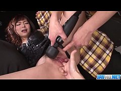 Horny Megumi Shinoґs Teen Holes Fucked With Sex Toys - More at javhd.net