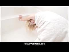 Cute Blonde Teen Step Sister Hannah Hawthorne G...