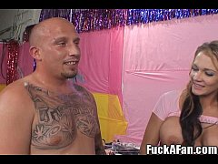 Amy Brooke Sucks and Fucks This Fan!