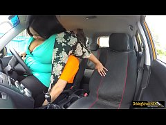 BBW pounded by horny driving instructor