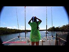 HD Tiny Asian Thai Heather Deep goes fishing an...