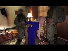 TOUR OF BOOTY - Local Arab Prostitue Servicing American Soldiers In Middle East