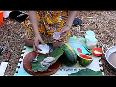 Woow!! Beautiful girls cooking Water Snake with...