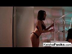 Keisha Grey and Darcie Dolce enjoy each other's...