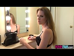Sympathetic teen stepsister helps out her stepb...