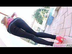 Give Me Pink Tight russian explores both holes