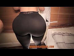 Removing big breast doll pants touching her pus...