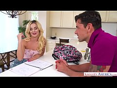 Bubble-butt Bella banged by big bopper! - Naugh...