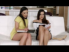 Teacher Henessy and naughty student Cindy Loarn...