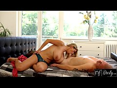 NF Busty - Sexy Blonde Sneaks Off To Fuck Siste...