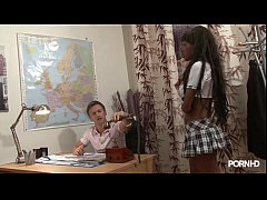 Young Ebony After School Vidéo porno