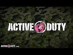 ActiveDuty - Big Cock Military Hunks Alex James...