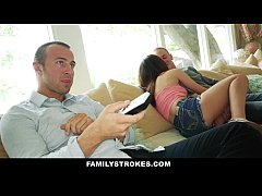 FamilyStokes- Step-Sis Tricked Into Fucking Bes...