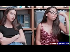 Bad teens Arielle Faye and Jasmine Summers get ...