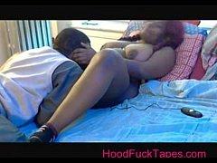 Ebony BBW Big Tits 1st times 18 part 1 - HoodFuckTapes.com