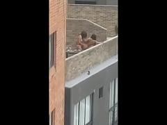Strapon girls  on public