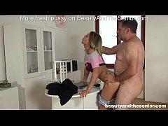 Lara West seduces old doctor Philippe Soine int...