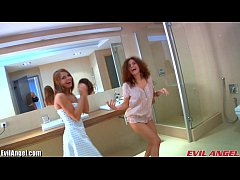 thumb evilangel ass g  aping threesome with two hot  e with two hot l with two hot le