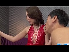 Asian wife Aya Kisaki loves fucking in threesome