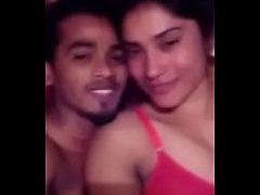 Desi couple enjoying