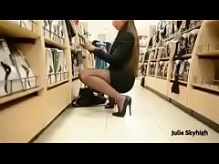 Best Belgian Mon Shopping with Buttplug Heels S...