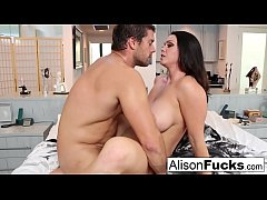 Amazing rough fuck with Alison Tyler and a hung...