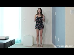 Innocent Reserved Coed Makes 1st Sex Tape For F...