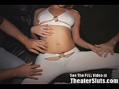 Hailey Is One SERIOUSLY No Holes Barred Tampa T...