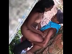 Spy Hidden Cam Outdoor Fuck