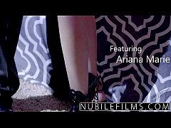 NubileFilms - Ariana Marie Milks Cum From Hard ...