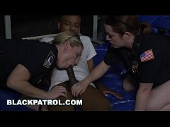 BLACK PATROL - Black Suspect Is Dominated and F...