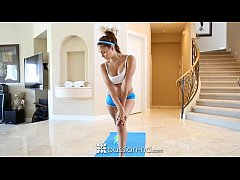 Ariana Marie comes home to fuck after a morning...