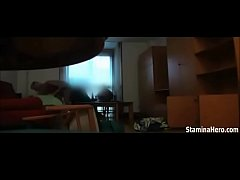 She calls a cop and fucks him on spycam