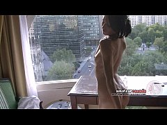 Skinny french Montreal porn star Hellizabeth fl...