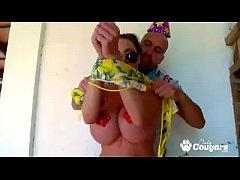 Sexy Clanddi Jinkcego Gives The Birthday Boy A ...
