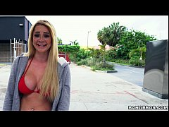 Skyla Novea gets the ride of her life on the Ba...