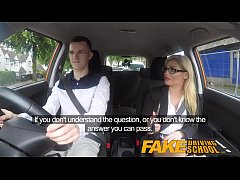 Fake Driving School Learners nerves calmed by f...