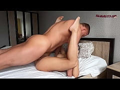 Morning Sex Of A Beautiful Couple, cum in mouth
