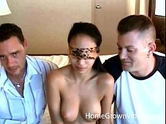 Alexis Love fucked by 2 guys homemade