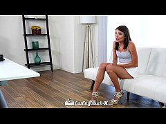 CastingCouch-X - Cute smiley Aspen Reign wants ...
