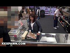 XXX PAWN - Desperate MILF Sells Her Husband's B...