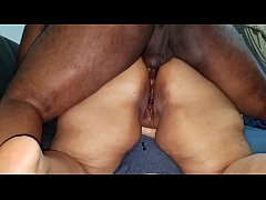 Playing with my brother in laws cum after he lo...