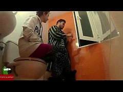 young couple having sex in the bath IV053
