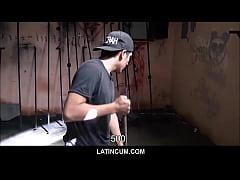 Amateur Spanish Latino Maintenance Guy Paid Cas...