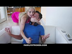 FamilyStrokes - Hot Step-Mom Seduces and Fucks ...