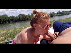 She gives a blowjob to her stepfather who will ...