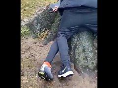 Rapidinha no parque