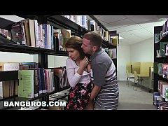 BANGBROS - Pounding a teen brunette named Josel...