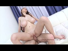 Barely legal babe with big natural tits Lucie W...
