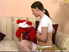 thumb tara reed loves  her teddy bear